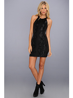 SALE! $36.99 - Save $51 on MINKPINK Black Python Dress (Black) Apparel - 57.97% OFF $88.00