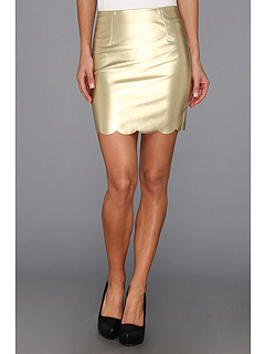 SALE! $26.99 - Save $26 on MINKPINK Bon Bon Skirt (Pale Gold) Apparel - 49.08% OFF $53.00