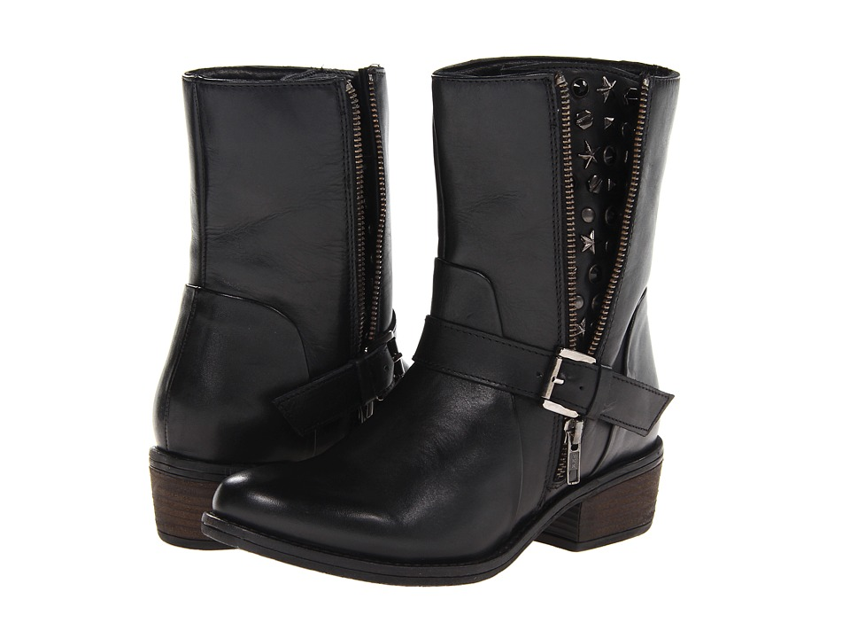 J. Renee - Artie (Black Leather) Women