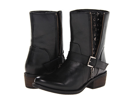 J. Renee - Artie (Black Leather) Women's Shoes