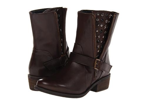 J. Renee Artie (Dark Brown Leather) Women's Shoes