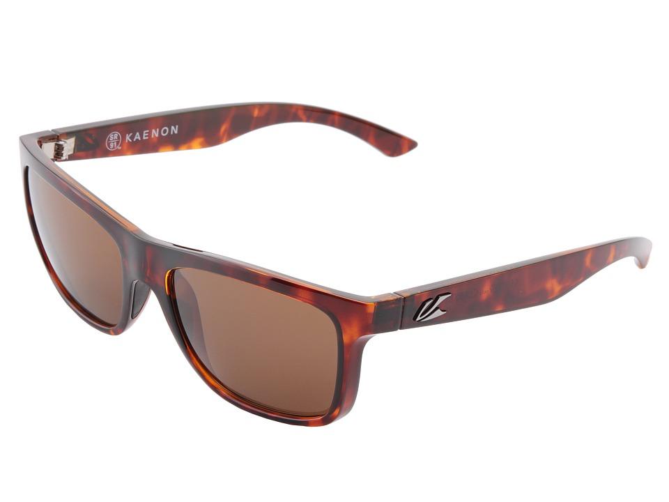 Kaenon - Clarke SR91 (Polarized) (Tortoise B12) Sport Sunglasses