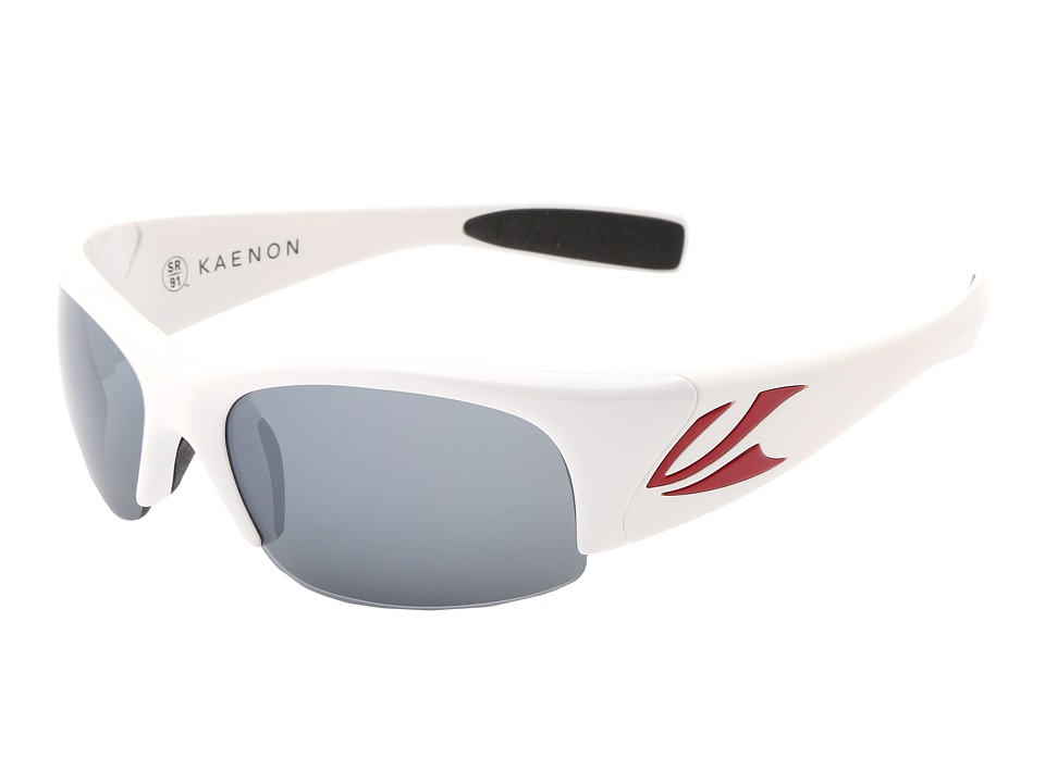 Kaenon - Hard Kore SR91 (Polarized) (All-Star White G12) Polarized Sport Sunglasses