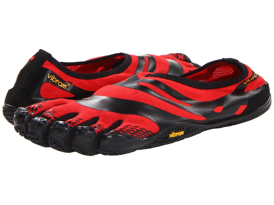 Vibram FiveFingers - EL-X (Red/Black) Men's Running Shoes