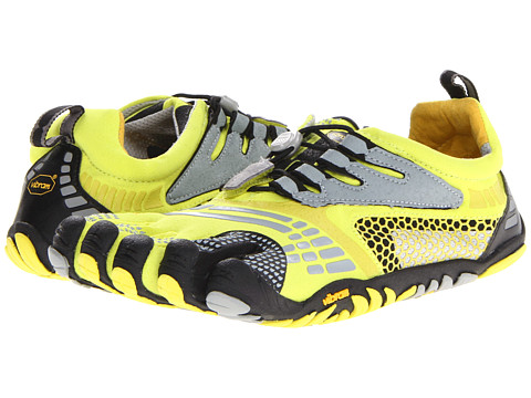 Vibram FiveFingers - KMD Sport LS (Lime/Grey/Black) Men's Shoes