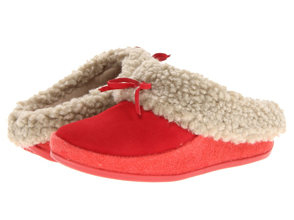 FitFlop - The Cuddler (Punch Pink) Women's Slippers