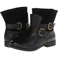 Kenneth Cole Reaction Gurrl Talk (Black Leather) Footwear
