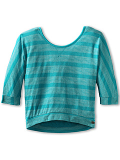 SALE! $14.99 - Save $21 on Roxy Kids Sound Off Top (Big Kids) (Capri Blue) Apparel - 58.36% OFF $36.00