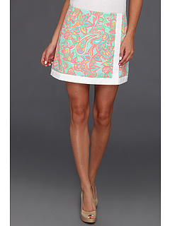 SALE! $39.99 - Save $38 on Lilly Pulitzer Spence Skort (Sand Bar Blue Make A Splash) Apparel - 48.73% OFF $78.00
