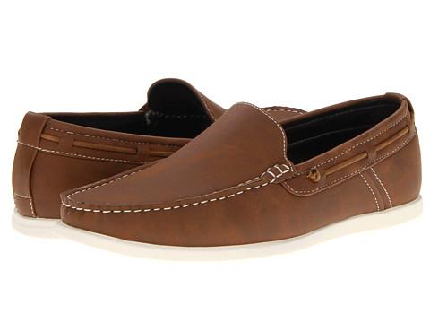 Kenneth Cole Unlisted - Ocean Breeze (Cognac) Men's Slip on Shoes