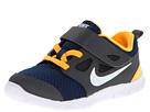 Nike Kids Free Run 5.0 (TDV) (Infant/Toddler) (Brave Blue/Dark Grey/Laser Orange/White)