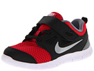 Nike Kids Free Run 5.0 (TDV) (Infant/Toddler) (Distance Red/Black/Cool Grey/Metallic Silver)