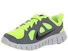 Nike Kids Free Run 5.0 (Little Kid) (Volt/Cool Grey/Pure Platinum/Black)