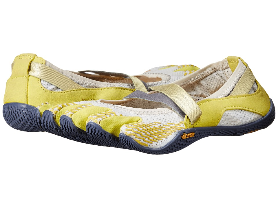 Vibram FiveFingers - Alitza (Little Kid/Big Kid) (Light Grey/Yellow/Blue) Women