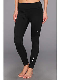 SALE! $56.99 - Save $18 on Nike Thermal Tight (Black Black Reflective Silver) Apparel - 24.01% OFF $75.00