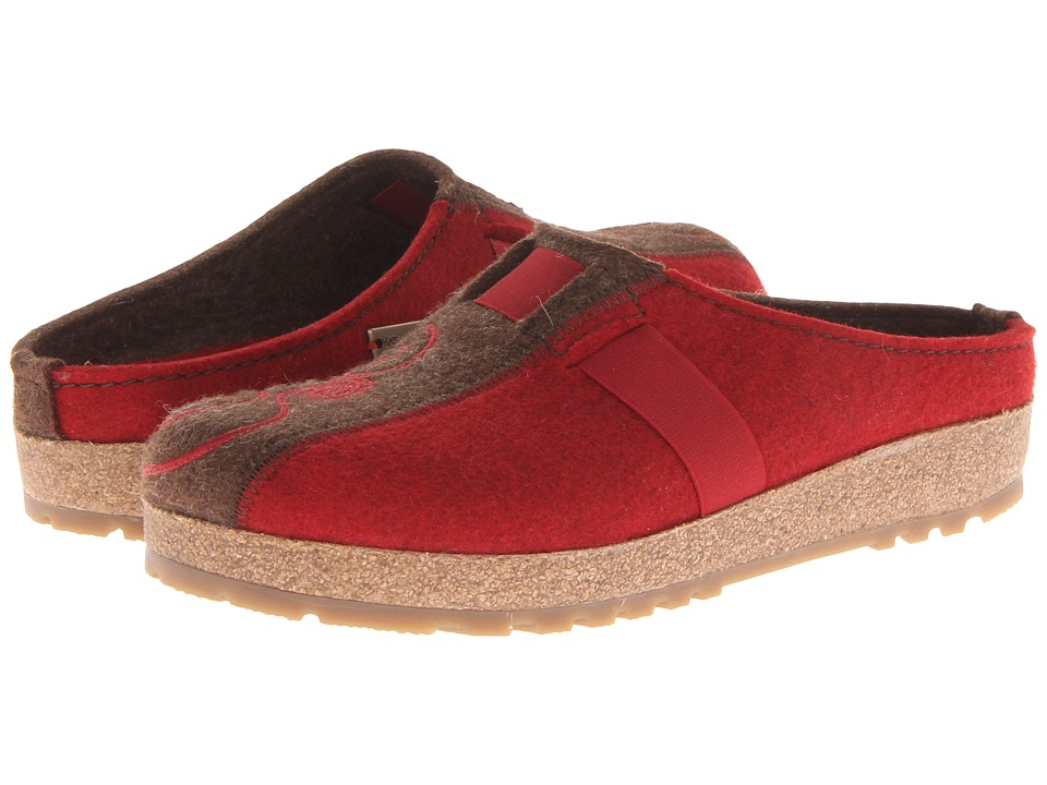 Haflinger - Magic (Chili/Chocolate) Women's Clog Shoes
