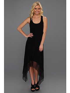 SALE! $76.99 - Save $41 on BCBGMAXAZRIA Akris Asymmetrical Tank Dress (Black) Apparel - 34.75% OFF $118.00