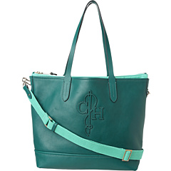 SALE! $181.99 - Save $146 on Cole Haan Belport Tote (Pendant Teal Deco Green) Bags and Luggage - 44.52% OFF $328.00