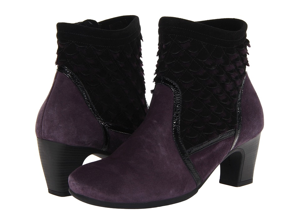Think! - Nei Ankle Bootie - 81477 (Lilac/Kombi) Women's Pull-on Boots