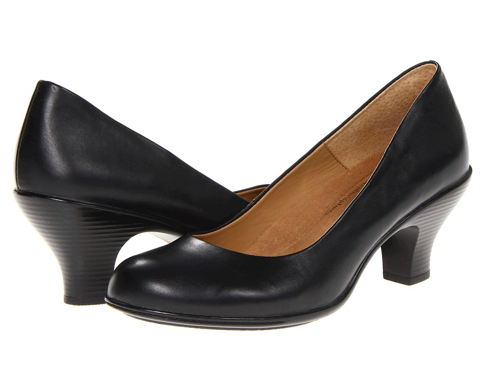 Comfortiva - Salude (Black Velvet Sheep Nappa) High Heels