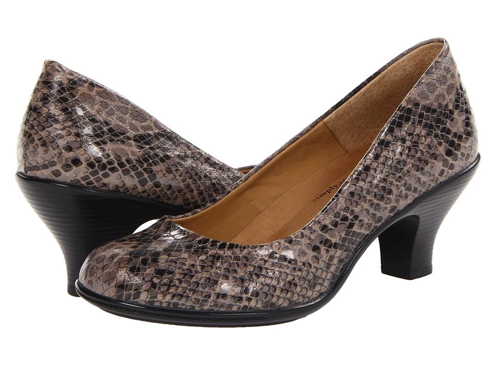Softspots - Salude (Grey Ginger Snake Print) High Heels