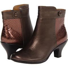 Softspots Sherry (Copper T. Moro Dark Brown Velvet Sheep Nappa) Footwear