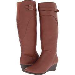 Softspots Oliva (Rust Brown Water Resistant Everest) Footwear
