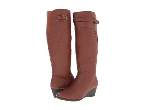Softspots - Oliva (Rust Brown Water Resistant Everest) Women's Boots