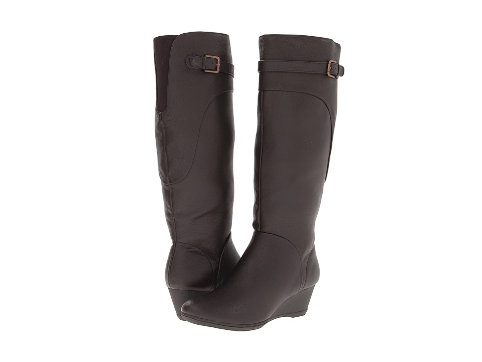 Comfortiva - Oliva (Dark Brown Water Resistant Everest) Women's Boots