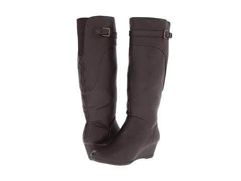 Softspots - Oliva (Dark Brown Water Resistant Everest) Women's Boots