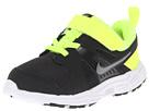 Nike Kids Dart 10 (Infant/Toddler) (Volt/Black/White/Metallic Cool Grey)