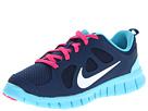 Nike Kids Free Run 5.0 (Little Kid) (Brave Blue/Gamma Blue/Pink Foil/White)