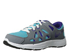 Nike Kids Fusion Run 2 (Little Kid) (Gamma Blue/Cool Grey/White/Electro Purple) Girls Shoes