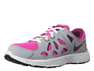 Nike Kids Fusion Run 2 (Little Kid) (Pink Foil/Wolf Grey/White/Raspberry Red) Girls Shoes