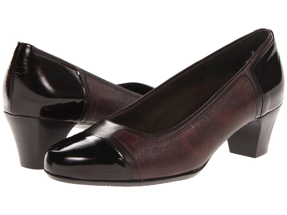 Munro - Jillian (Dark Brown Multi) Women's 1-2 inch heel Shoes