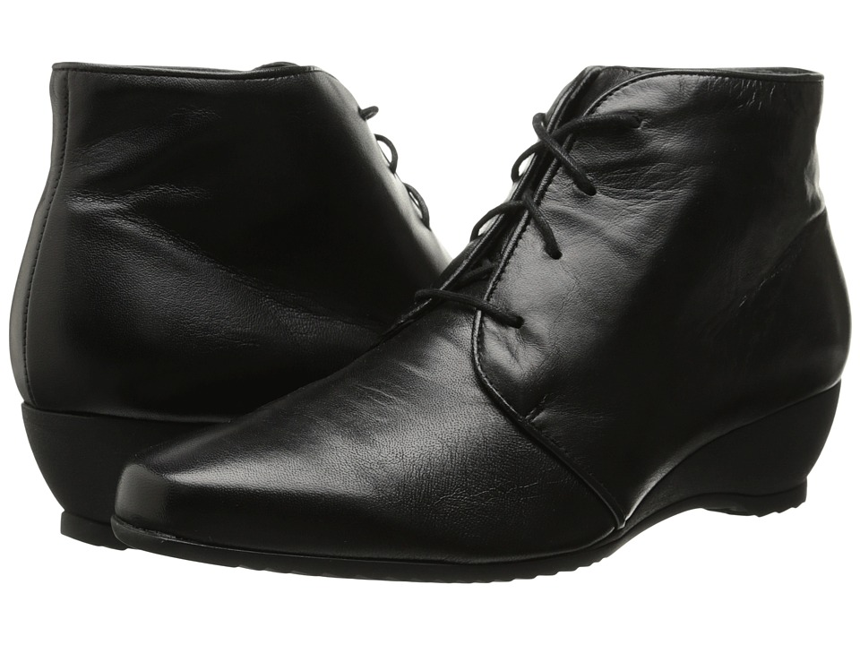 Munro American - Kara (Black Leather) Women's Lace-up Boots