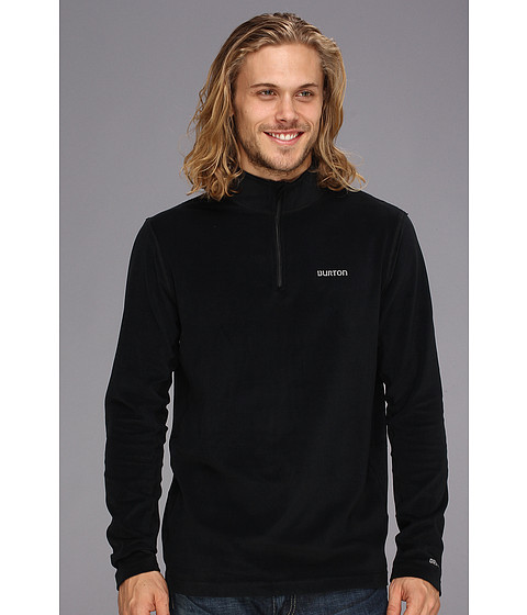 Burton - Expedition 1/4 Zip Fleece (True Black) Men's Sweatshirt