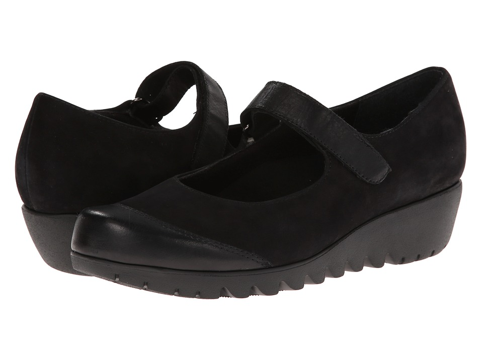 Munro American - Alpine (Black Nubuck) Women's Shoes