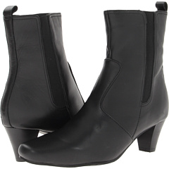 Fitzwell Madilyn Ankle Boot (Black Leather) Footwear