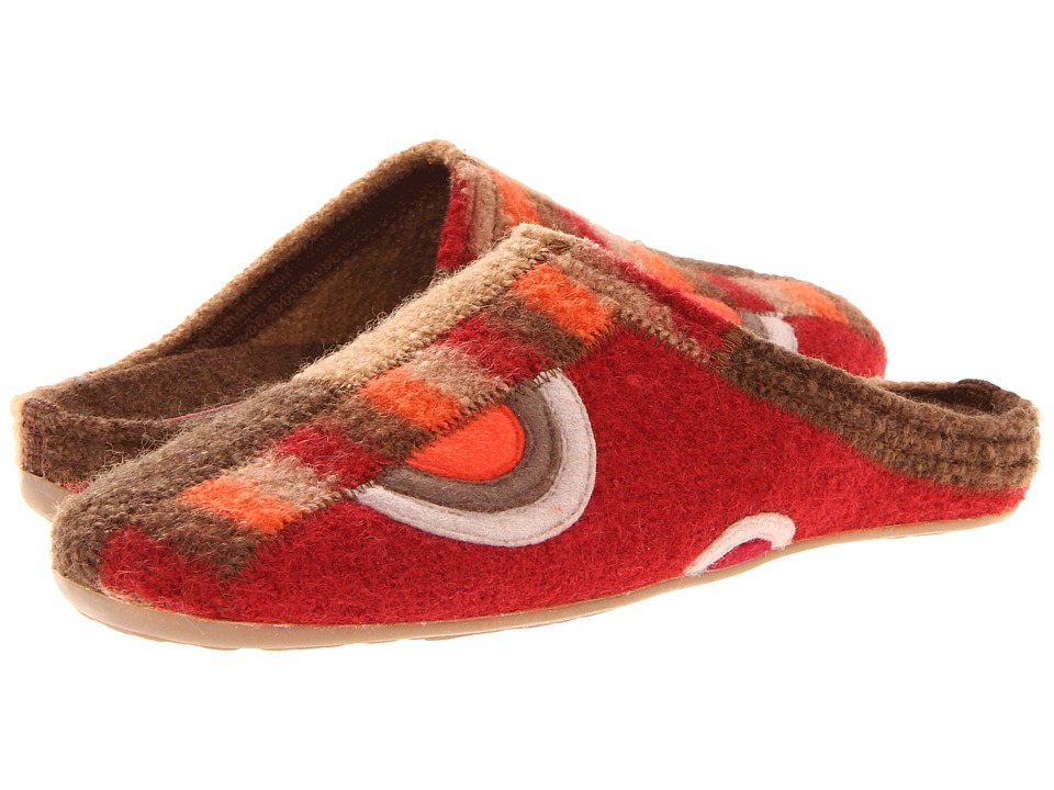 Haflinger - Tango (Paprika) Women's Slippers plus size,  plus size fashion plus size appare