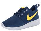 Nike Kids Roshe Run (Little Kid/Big Kid) (Brave Blue/Wolf Grey/Laser Orange)