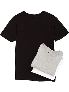 SALE! $16.99 - Save $18 on Burton 3 Pack Slim Fit Tees (Black Gray White) Apparel - 51.46% OFF $35.00
