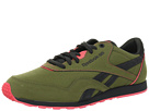 Reebok - CL Nylon Slim AK (Piping/Cargo Green/Gravel/Coral Contrast)