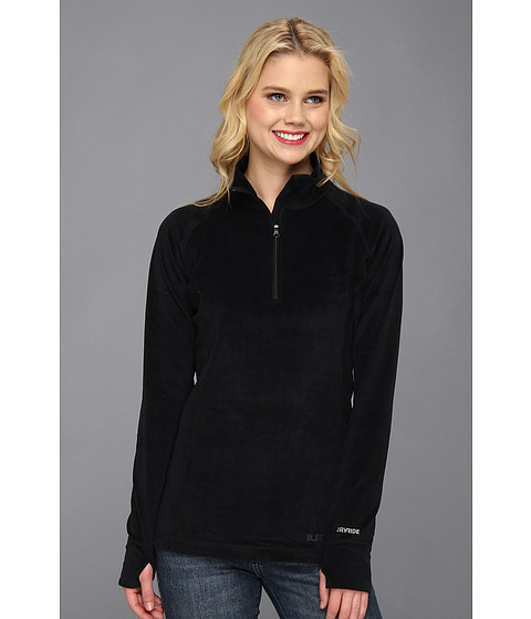 Burton - Expedition 1/4 Zip Fleece (True Black) Women's Long Sleeve Pullover