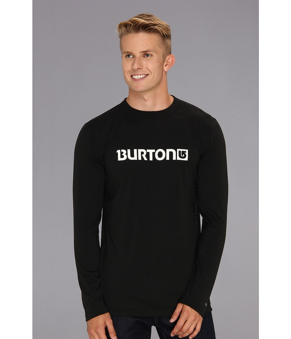 Burton - Midweight Crew (True Black) Men's Long Sleeve Pullover