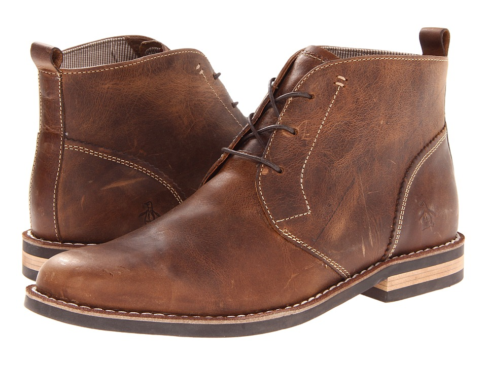Original Penguin Merle (Tan/Dark Brown) Men
