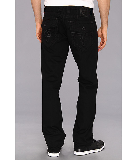 Rock Revival - Steven T32 Straight (Black) Men's Jeans
