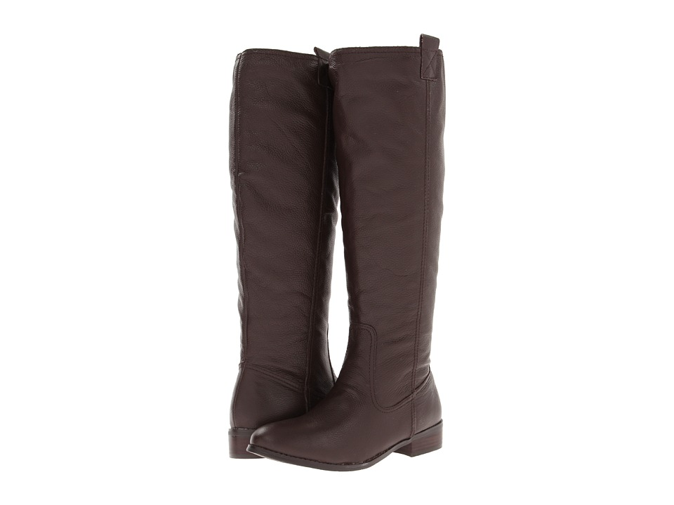 Lumiani International Collection - Lacey Wide Calf (Brown Pebble Calf) Women