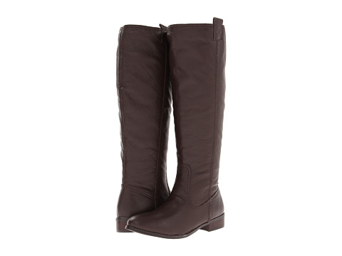 Lumiani International Collection - Lacey Wide Calf (Brown Pebble Calf) Women's Wide Shaft Boots