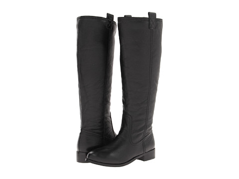 Lumiani International Collection - Lacey Wide Calf (Black Pebble Calf) Women